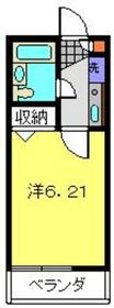 菊名駅 徒歩20分1階Fの間取り画像