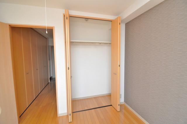 Celeb布施東 もちろん収納スペースも確保。いたれりつくせりのお部屋です。