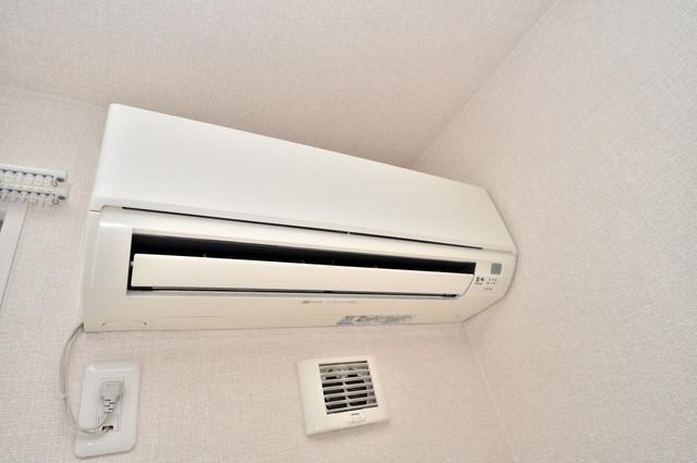 セジュールオッツ八戸ノ里 最初からエアコンが付いているなんてお得ですね