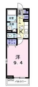 ルミノッサ1階Fの間取り画像