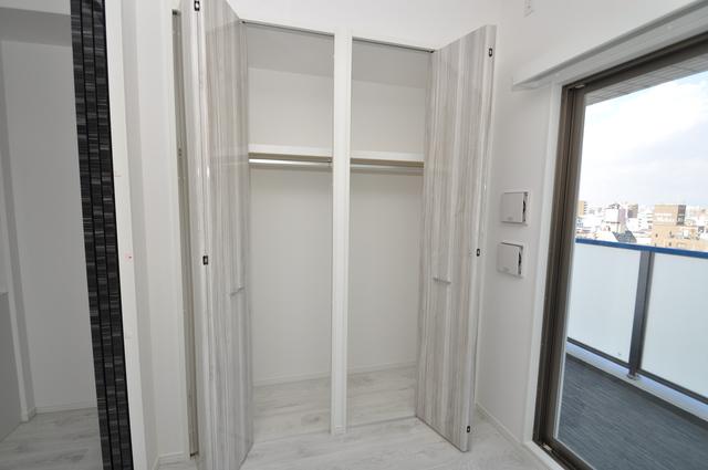 パラゴン布施駅前 もちろん収納スペースも確保。いたれりつくせりのお部屋です。