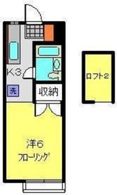 グリーンヒル横浜2階Fの間取り画像