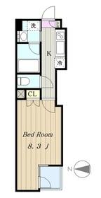アボード3階Fの間取り画像