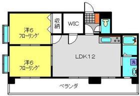 プライマリーナ新杉田6階Fの間取り画像
