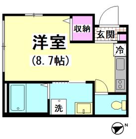 シャーウッドメゾン蒲田 101号室