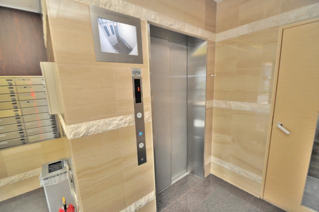 CITY SPIRE布施(ラグゼ布施) エレベーター付きです。思い荷物もラクラク運べますね。