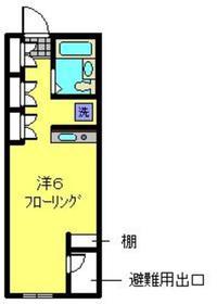 コリスタ2階Fの間取り画像
