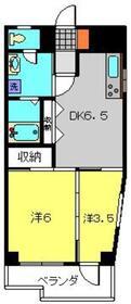 港南台駅 徒歩13分2階Fの間取り画像
