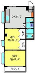 新川崎駅 バス11分「南加瀬交番前」徒歩2分1階Fの間取り画像