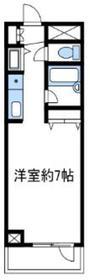 エル4階Fの間取り画像