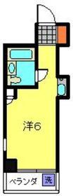 トップ横浜吉野町4階Fの間取り画像
