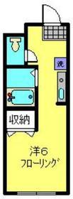 星川駅 徒歩8分4階Fの間取り画像