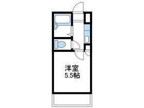 中央林間駅 車15分3.9キロ2階Fの間取り画像