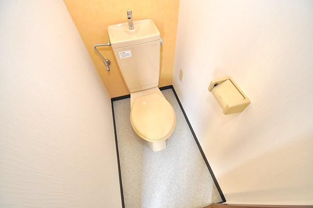 ヴィーブルアサダ スタンダードなトイレは清潔感があって、リラックス出来ます。