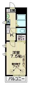 セレーノ吉祥寺1階Fの間取り画像