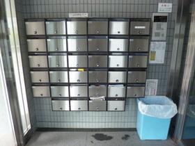 スカイコート高田馬場エントランス