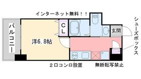 室見駅 徒歩9分10階Fの間取り画像