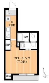 エクセルコート3階Fの間取り画像