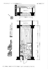 フェニックス新横濱エオール7階Fの間取り画像