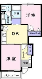 入谷駅 徒歩9分1階Fの間取り画像