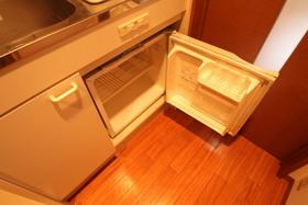 ミニ冷蔵庫付き!
