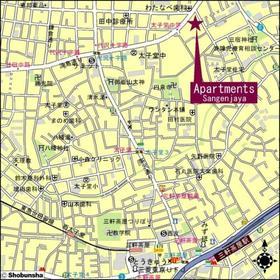 アパートメンツ三軒茶屋 アイビーテラス案内図