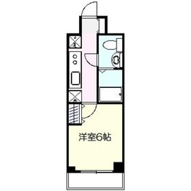 アゼリア鎌倉2階Fの間取り画像