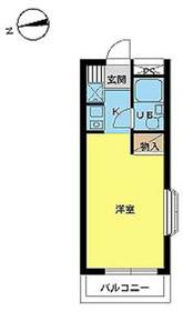 スカイコート生田2階Fの間取り画像
