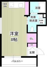 moku3階Fの間取り画像
