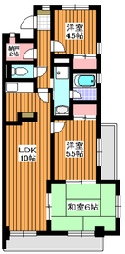 高島平駅 徒歩23分2階Fの間取り画像