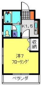パークビュー西寺尾2階Fの間取り画像
