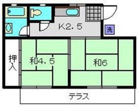 三ッ沢下町駅 徒歩7分1階Fの間取り画像
