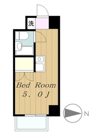 小田急相模原駅 徒歩3分4階Fの間取り画像