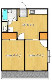 エムエイガーデン2階Fの間取り画像