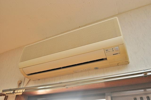 太陽マンション うれしいエアコン標準装備。快適な生活が送れそうです。