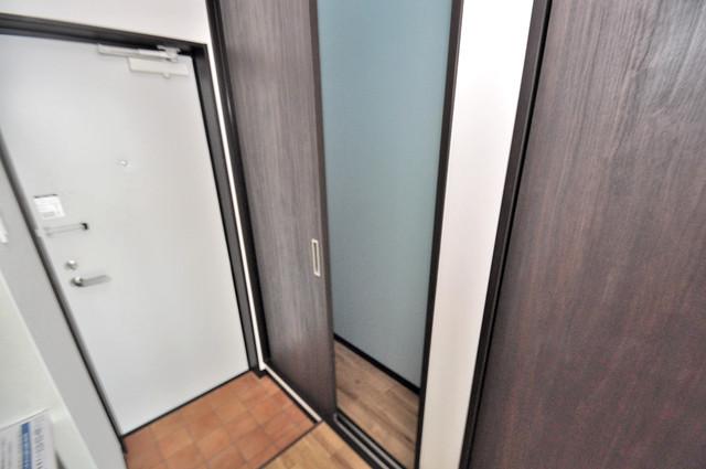 ブライト近大前 もちろん収納スペースも確保。おかげでお部屋の中がスッキリ。