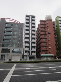 アジールコート中野坂上の外観画像