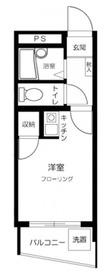 アイ・シュライン川崎大師東4階Fの間取り画像
