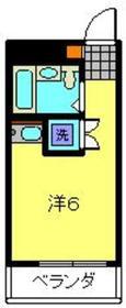 サンライク東寺尾2階Fの間取り画像