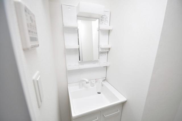 ラ・ハイール北巽 バストイレがセパレート、独立洗面所のある使い易い間取りです。