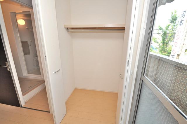 エクレール上小阪 もちろん収納スペースも確保。いたれりつくせりのお部屋です。