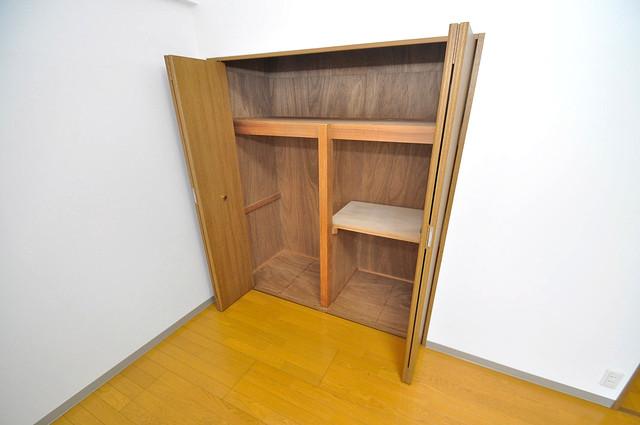 カーサ山野 もちろん収納スペースも確保。いたれりつくせりのお部屋です。