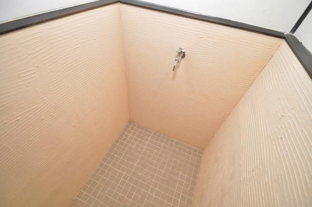エフェクティブハウス布施 蛇口がついているので水洗いできるのが嬉しいですね。