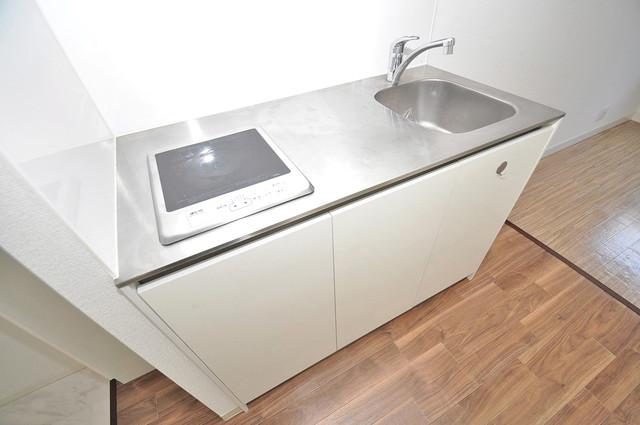 Blue Star G1(ブルースター) 洗面台がないのでキッチンと共同になっております。