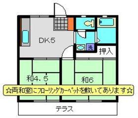 足立ハイツA1階Fの間取り画像