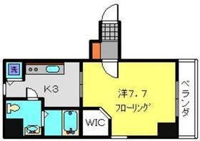 SELENA3階Fの間取り画像