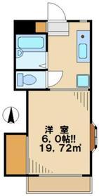 ヴェナビスタ1階Fの間取り画像