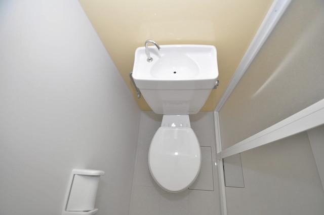 メゾンドールコトブキⅡ スタンダードなトイレは清潔感があって、リラックス出来ます。