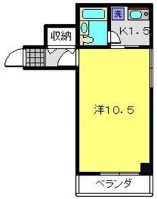プライム横浜3階Fの間取り画像
