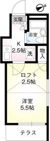京急田浦駅 徒歩8分02階Fの間取り画像